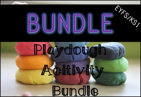Playdough Activity Bundle